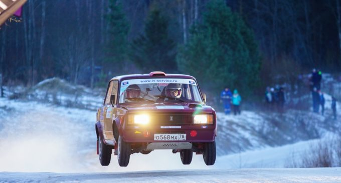 1 этап Кубка Республики Карелия по ралли