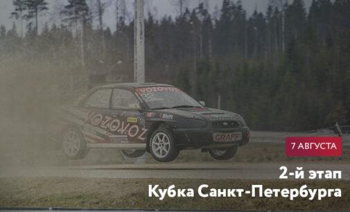 2-й этап Кубка Санкт-Петербурга по ралли-кроссу